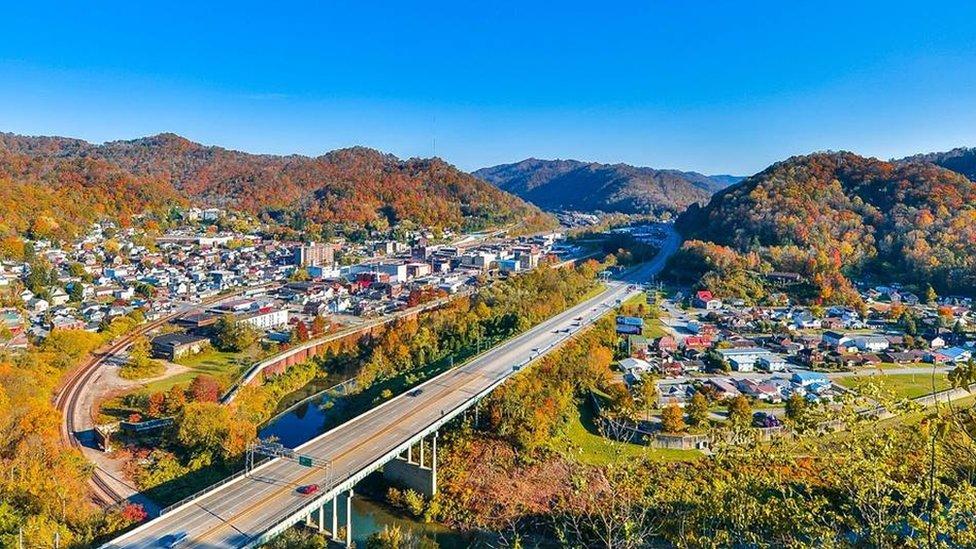 Vista aérea de Williamson