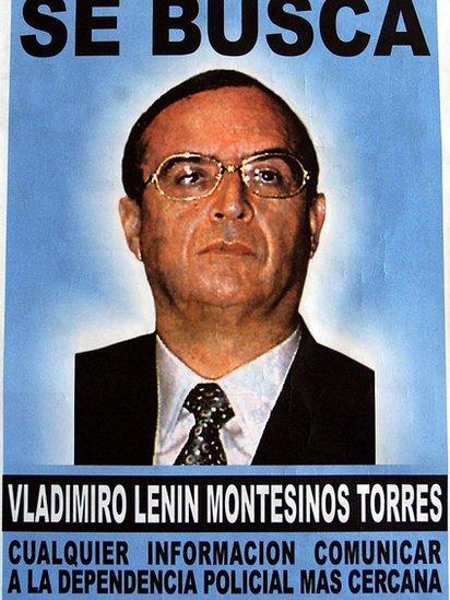 Se busca Montesinos.