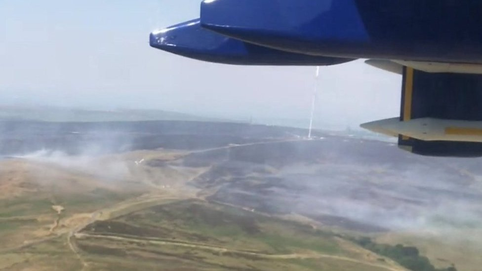 On board the flying lab testing UK wildfire smoke