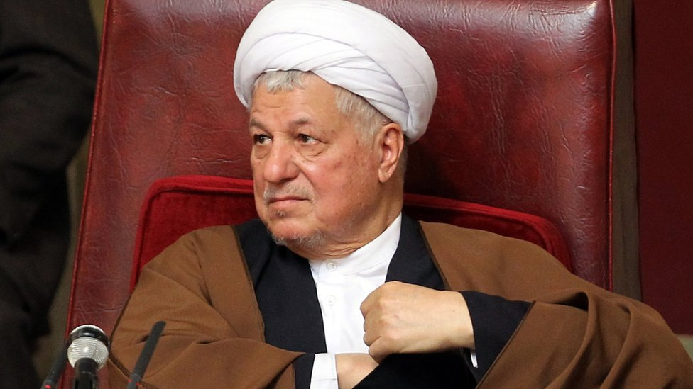 2011 file photo of former Iranian president Akbar Hashemi Rafsanjani