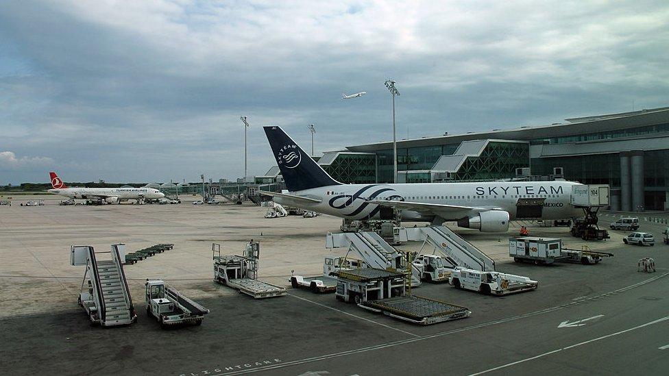 El aeropuerto de Barcelona-El Prat