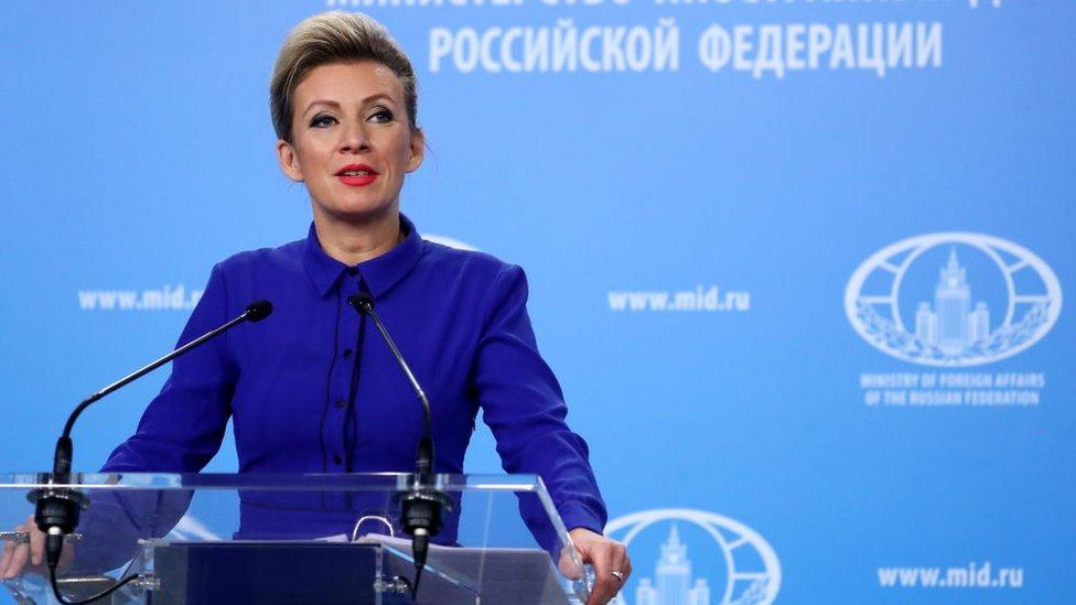 Dışişleri Bakanlığı Sözcüsü Maria Zakharova