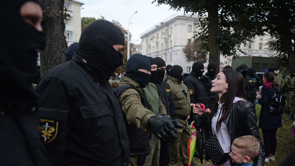 白俄羅斯總統選舉結果的爭議觸發示威浪潮,至今已經三個多月。