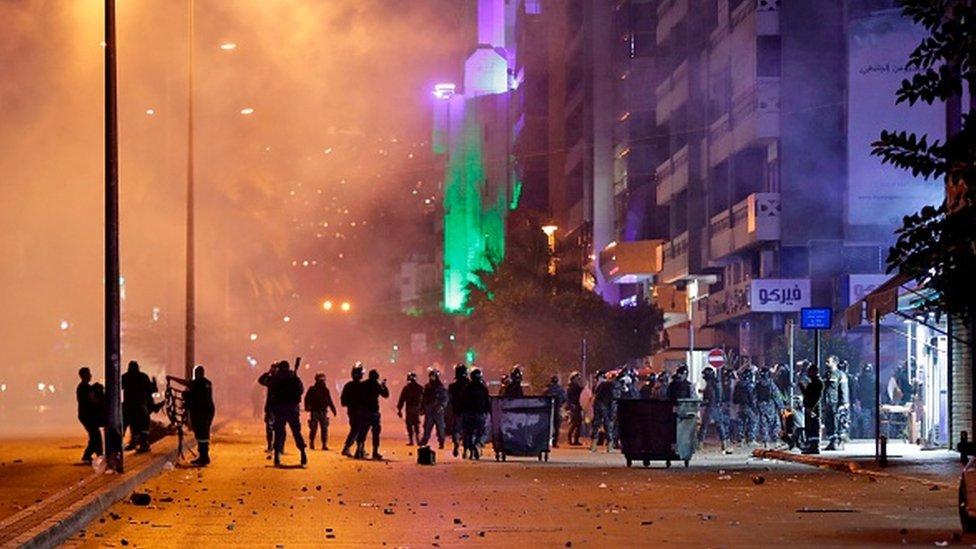 اشباكات في بيروت