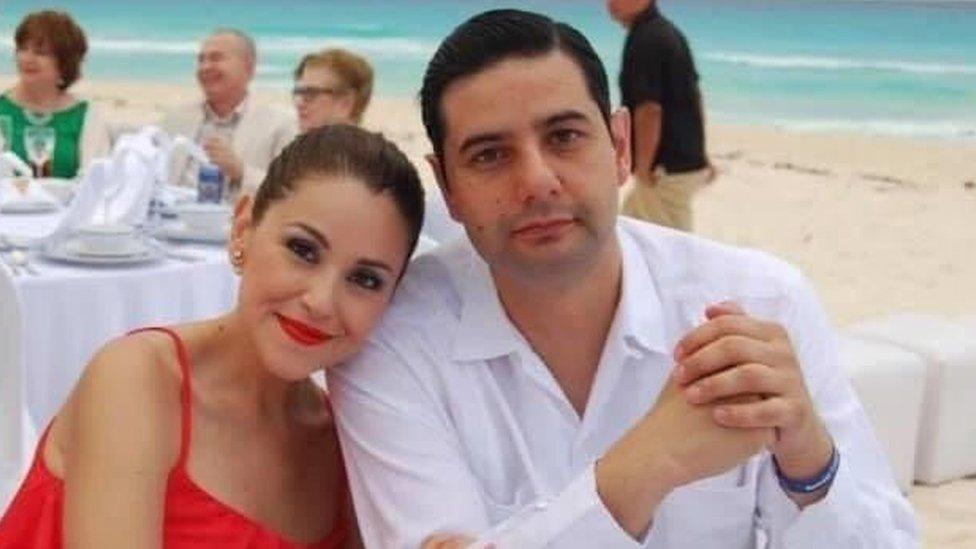 Uriel Villegas y Verónica Barajas