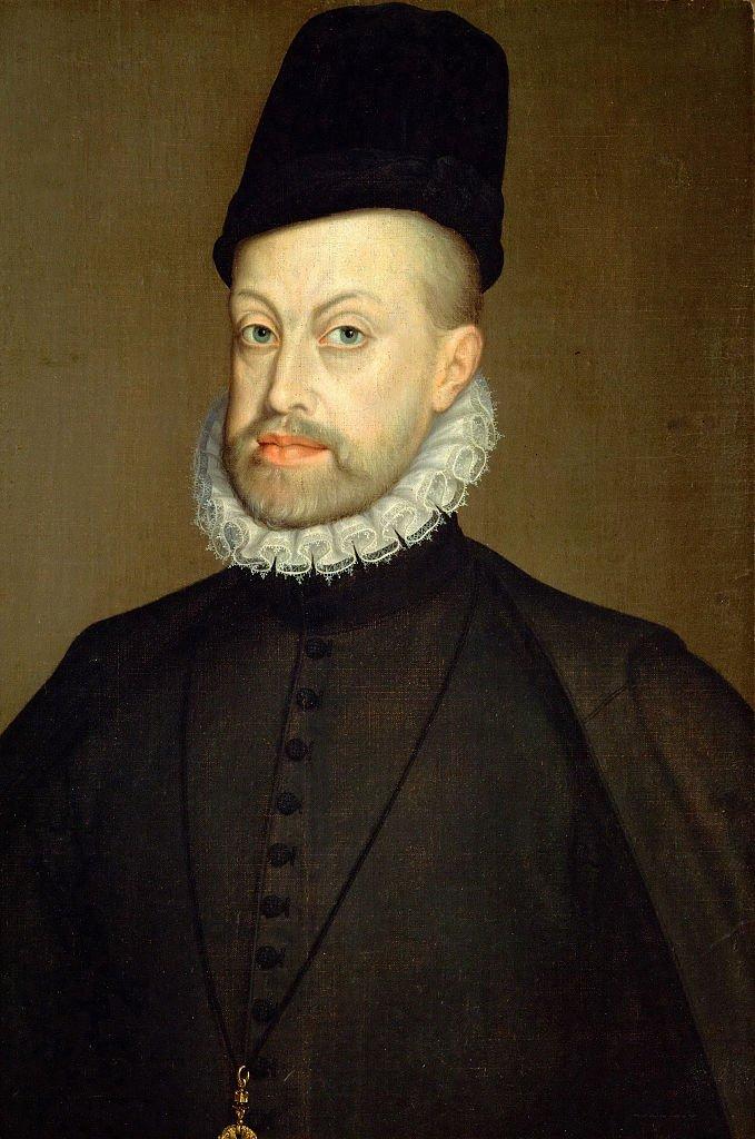 Retrato de Felipe II.