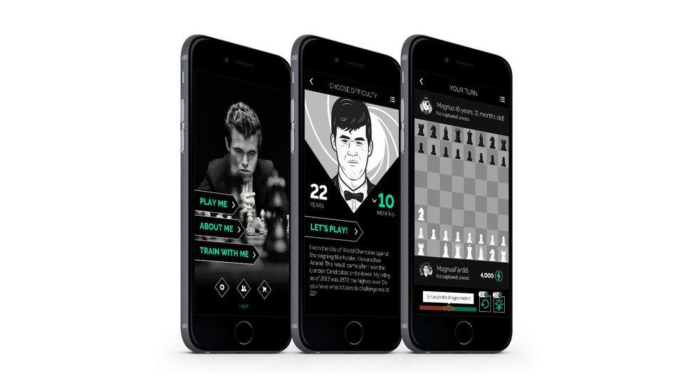 Aplicaciones de Magnus Carlsen