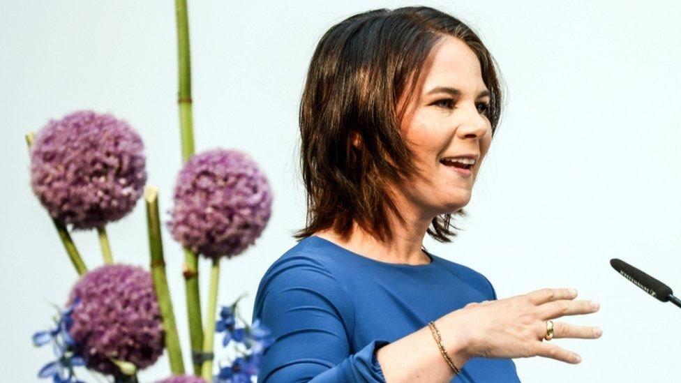 Yeşiller lideri Annalena Baerbock