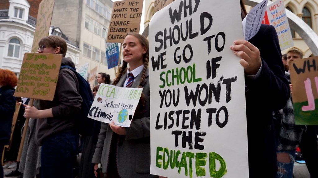 Meet Belfast's young climate change protesters