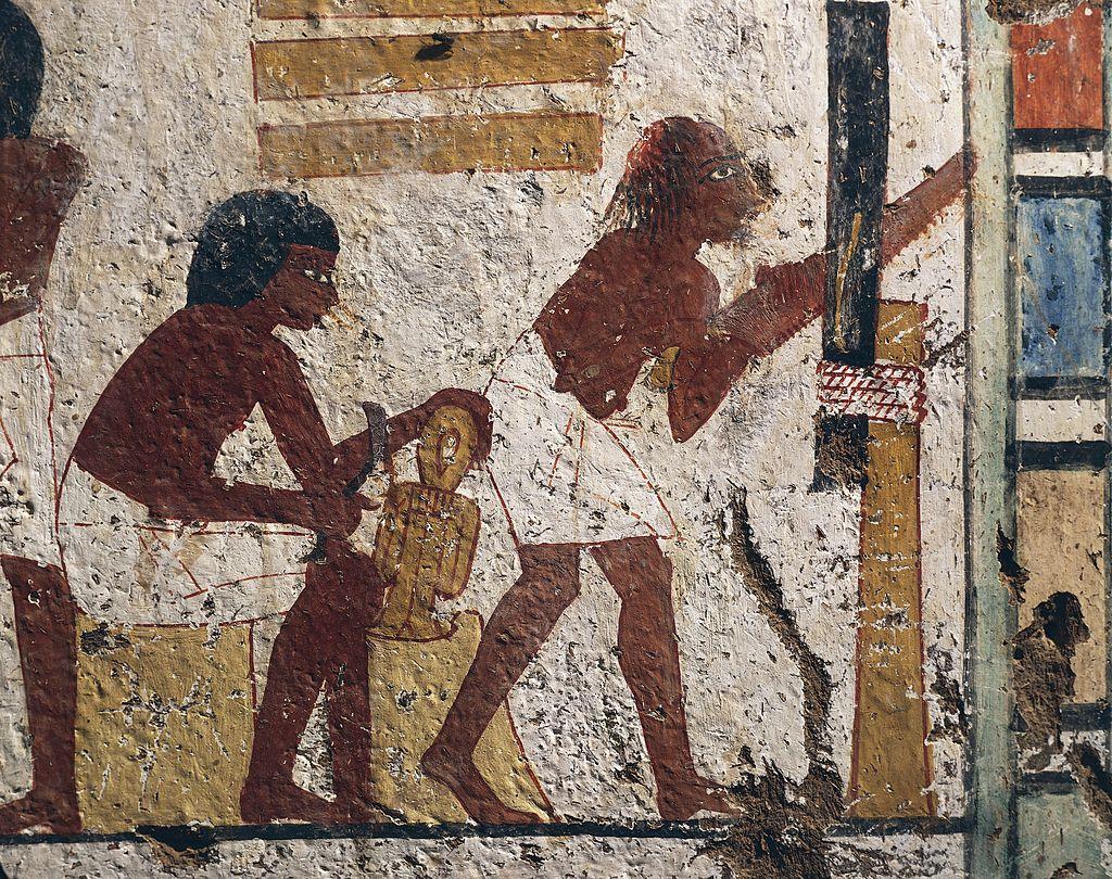 عمال في مصر القديمة