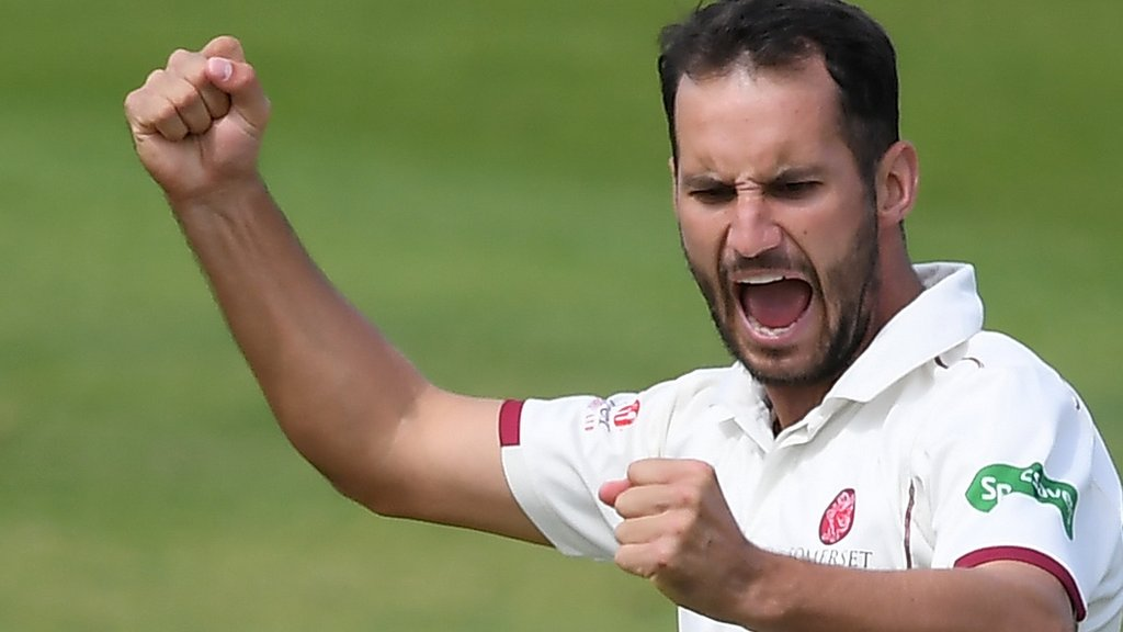 County Championship: Somerset complete 49-run win over Warwickshire at Taunton