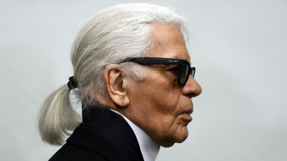 Karl Lagerfeld, the 'king of the fashion world'
