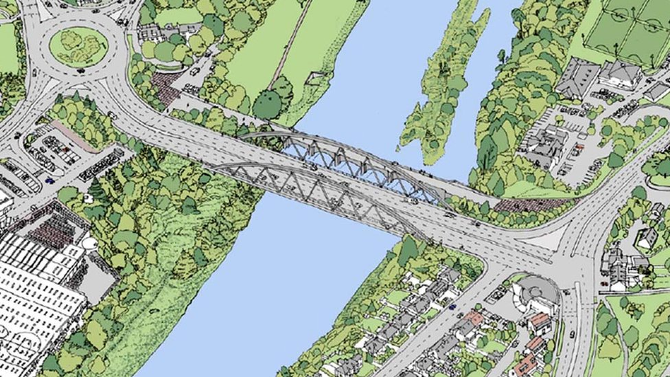 Bridge of Dee plan