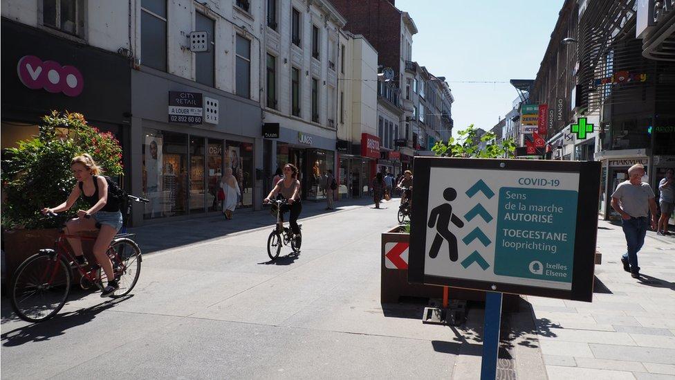 Nova biciklistička staza u Briselu