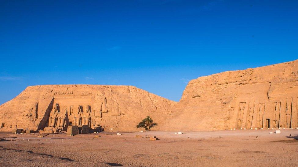Los templos de Abu Simbel