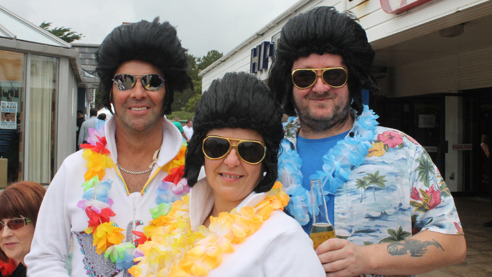 BBC News - Porthcawl Elvis festival could suffer £20k council budget cut