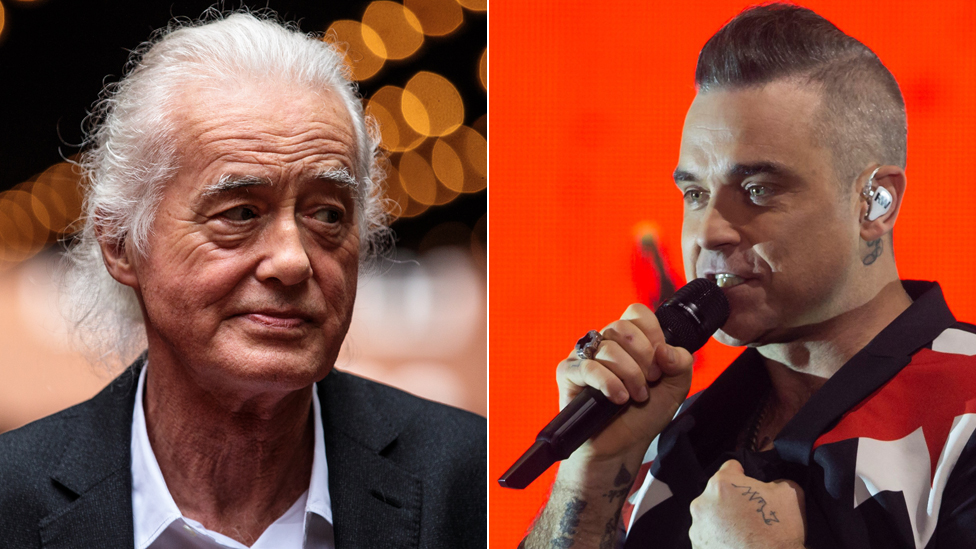 Robbie Williams wins pool plan row with Led Zeppelin's Jimmy Page