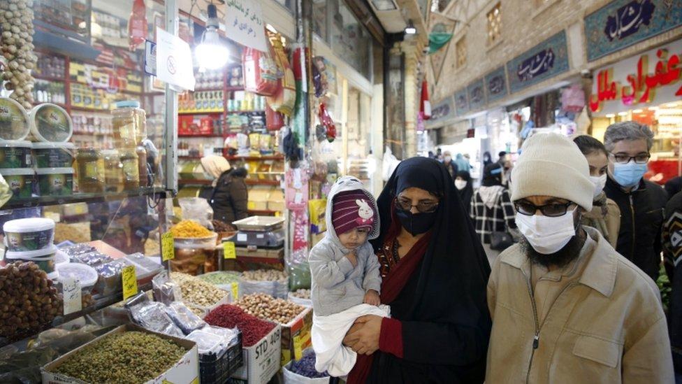 سوق في العاصمة طهران