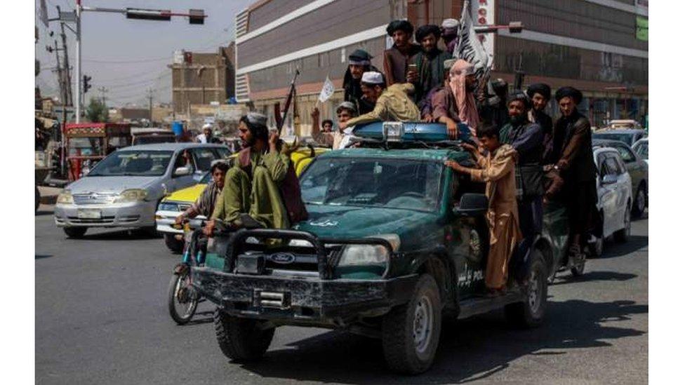 مقاتلوا حركة طالبان