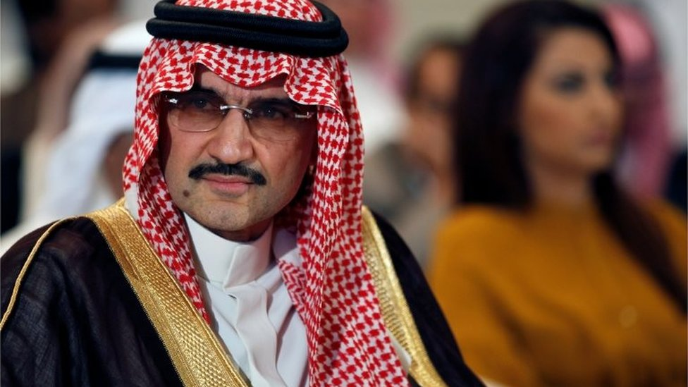 Saudi Prince Alwaleed bin Talal (file photo)