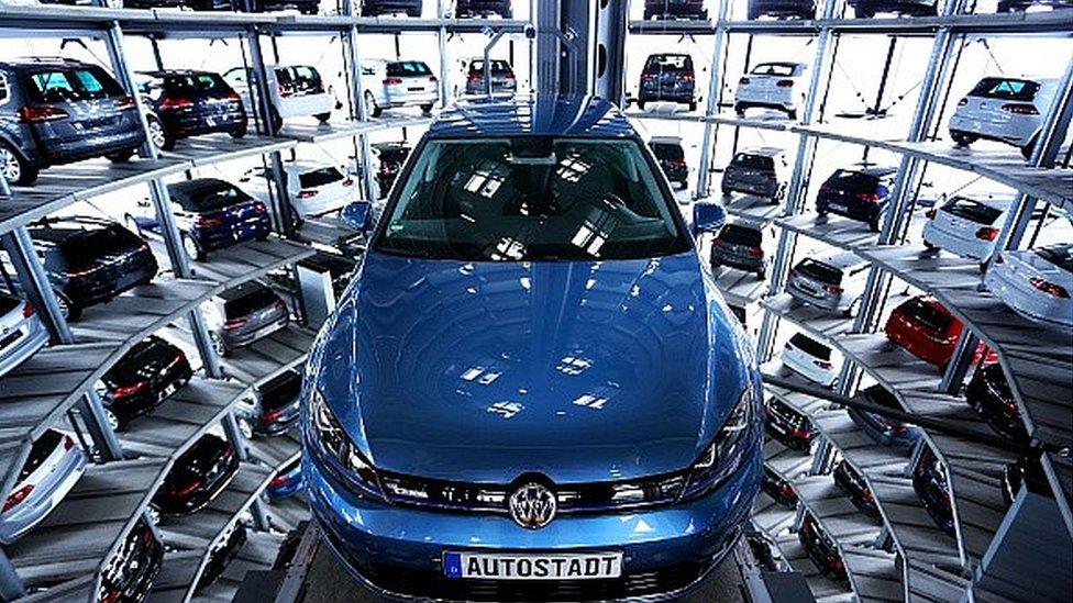 VW car