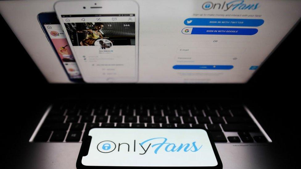El sitio de OnlyFans