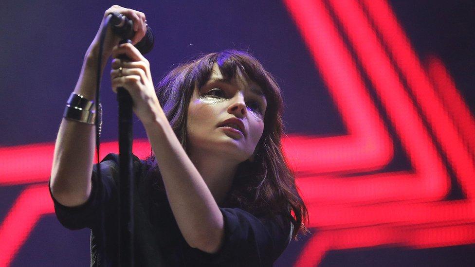 Chrvches singer Lauren Mayberry