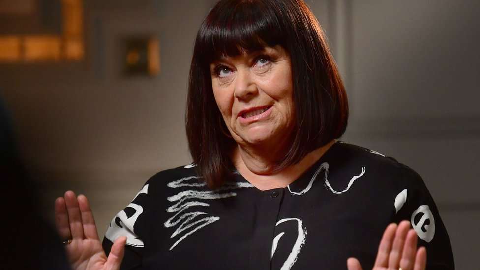 Dawn French believes in freedom of speech for comedians, but with consequences
