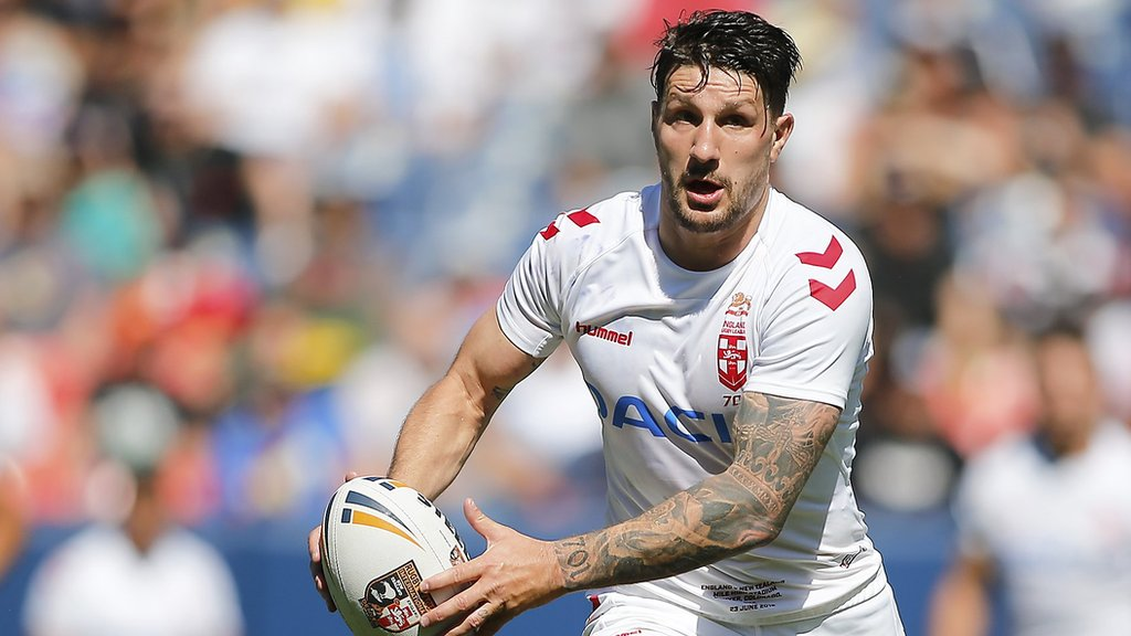 Gareth Widdop: Warrington to sign England stand-off from St George Illawarra