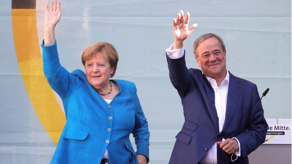 Merkel ve Laschet