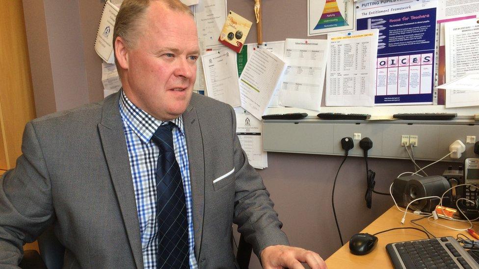 School principal Gary Kelly