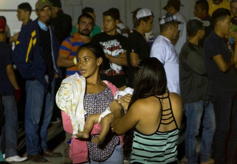 Migrantes en Piedras Negras