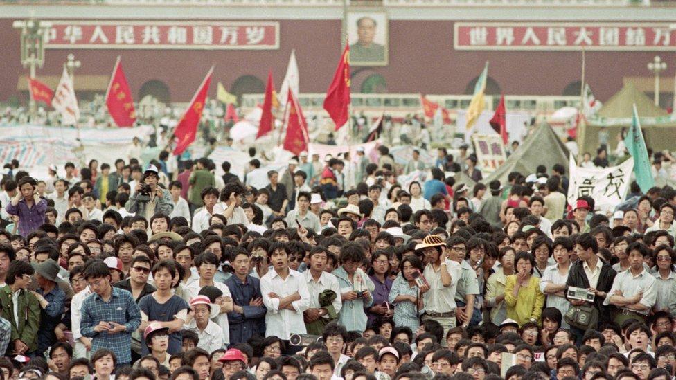 1989年春夏之交的北京天安門廣場