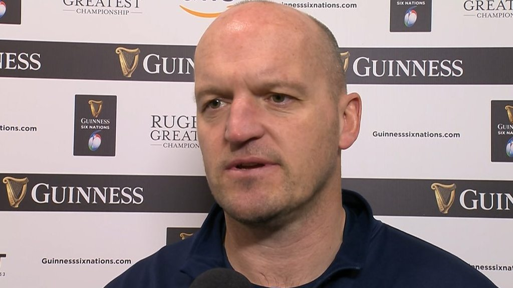 Six Nations: Scotland boss Gregor Townsend says France 'brought more energy'