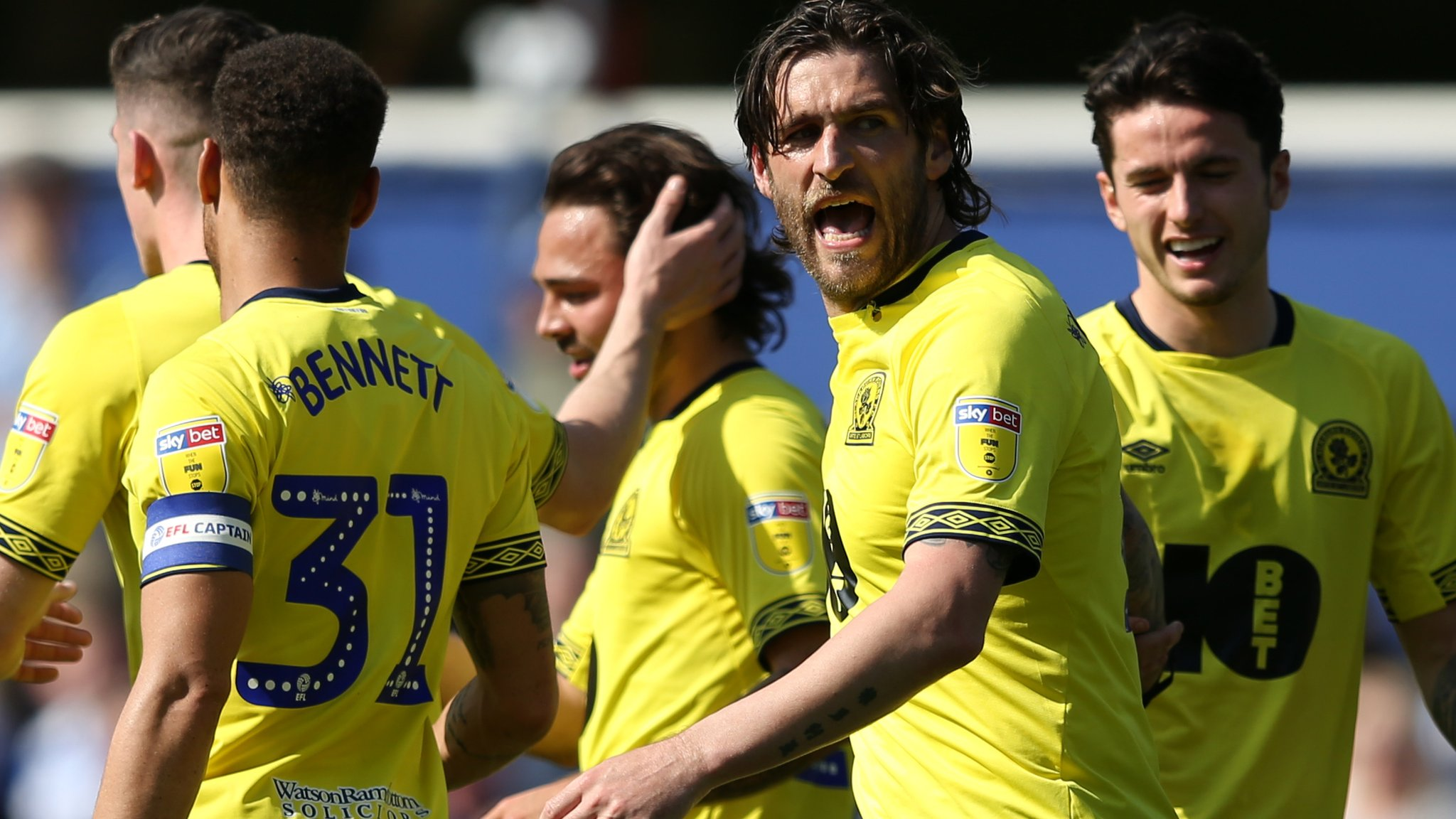 QPR 1-2 Blackburn: Danny Graham and Bradley Dack score to secure third win in a row