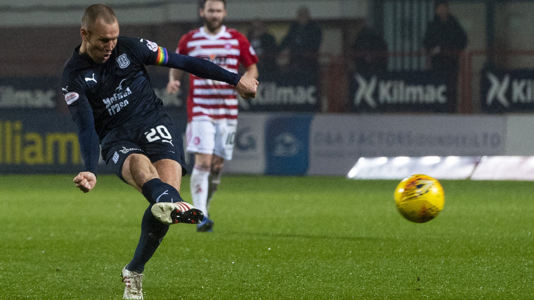 Dundee 4-0 Hamilton: Kenny Miller scores a hat-trick in win