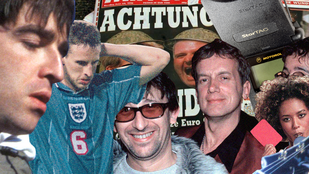 BBC Sport - Euro 96: How life has changed in the UK in almost 25 years