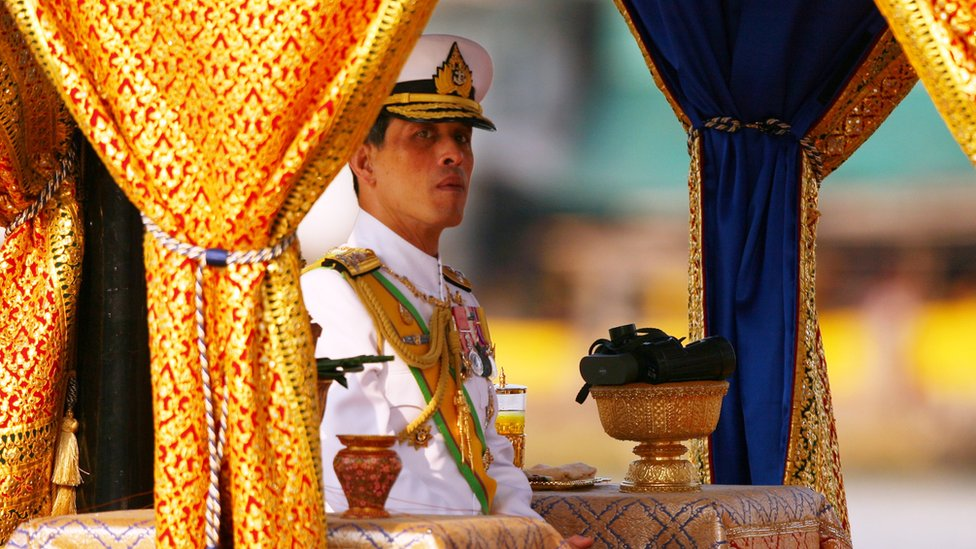 Crown Prince Vajiralongkorn replaced his father as king in late 2016