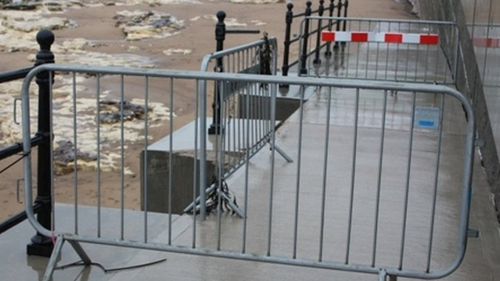 Hartlepool Headland sea defence problem 'disappointing'
