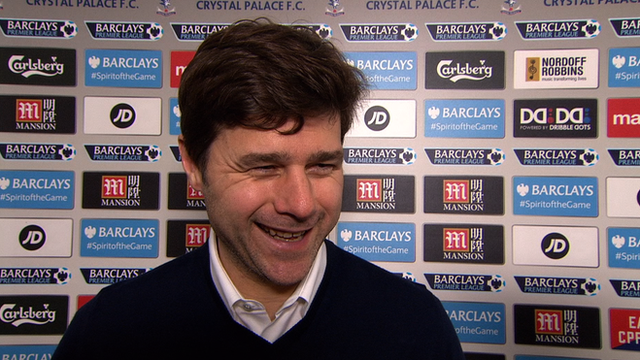 Crystal Palace 1-3 Tottenham: Pochettino says youngsters are maturing