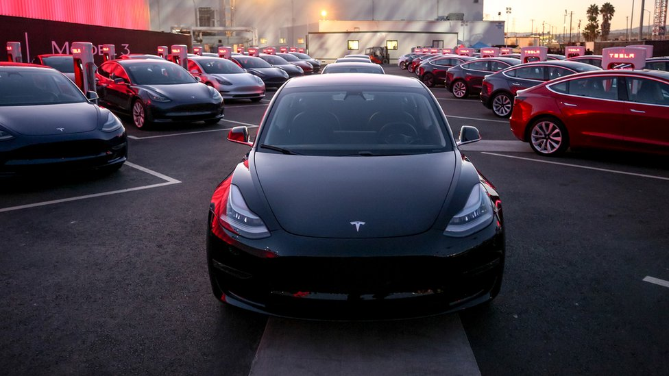 Model 3 delivery