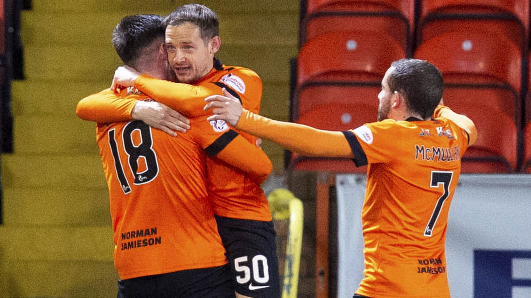 Dundee United 1-0 Ross County: Calum Butcher strike cuts gap at top