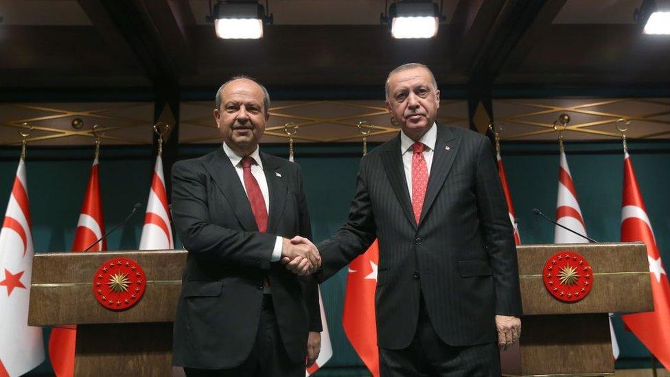 Kuzey Kıbrıs Başbakanı Ersin Tatar, Cumhurbaşkanı Recep Tayyip Erdoğan ile Ağustos'ta bir araya geldi.