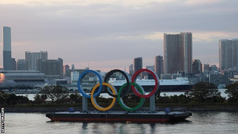 شعار الأولمبياد في طوكيو
