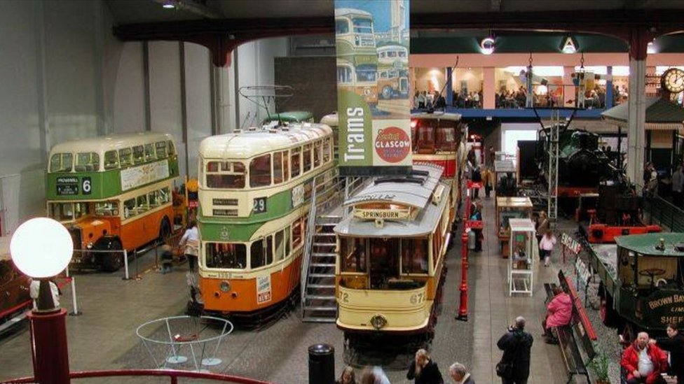 Kelvin Hall Transport Museum