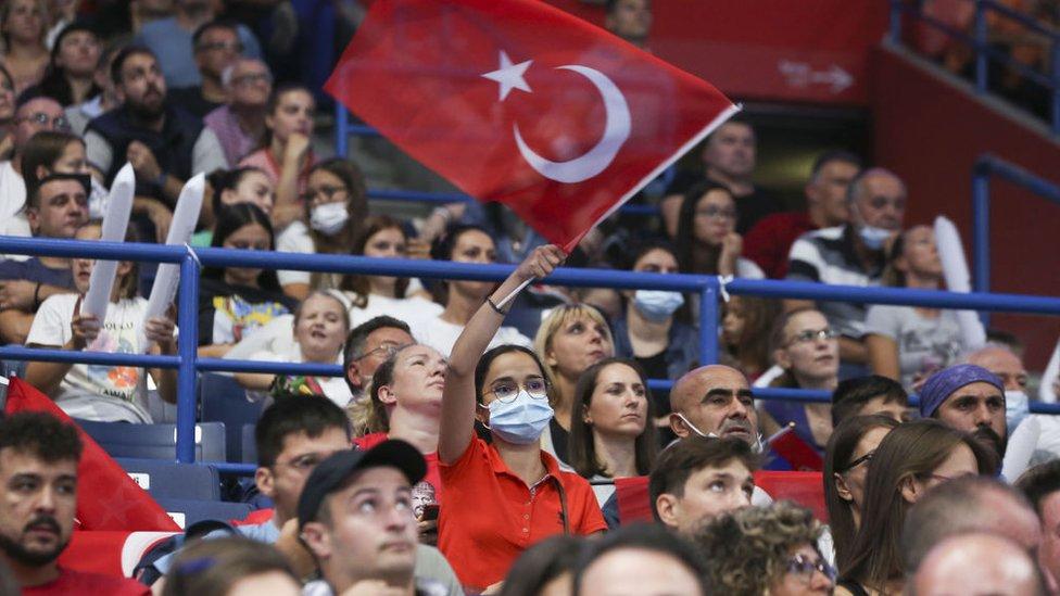 Türk taraftarlar