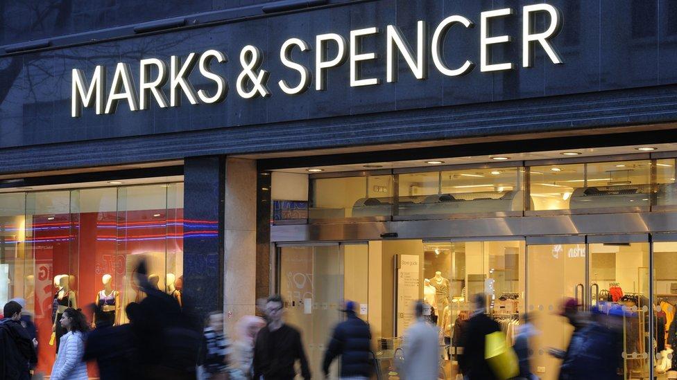 M&S profits slump on store closure costs