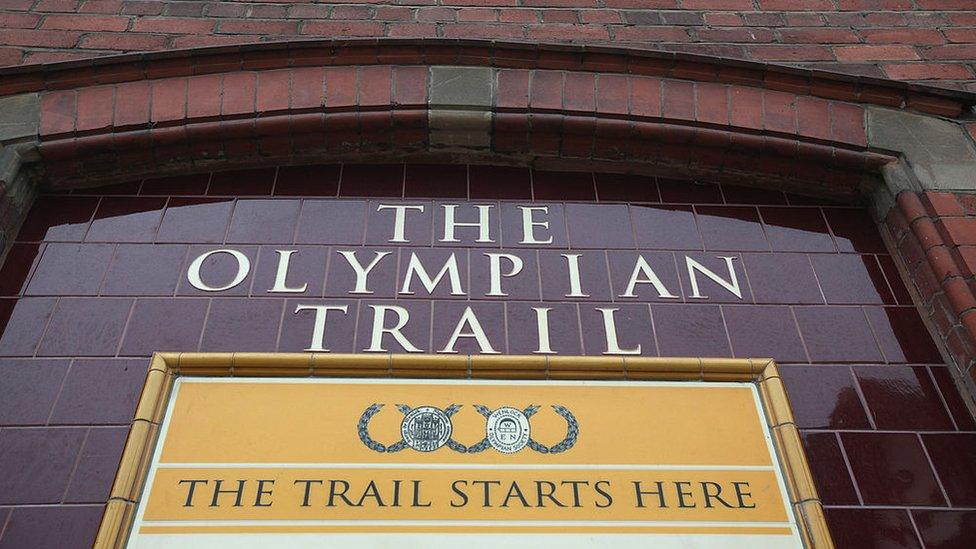 Un sendero olímpico de 2 kilómetros cuenta la historia de cómo Wenlock inspiró los Juegos Olímpicos internacionales modernos.