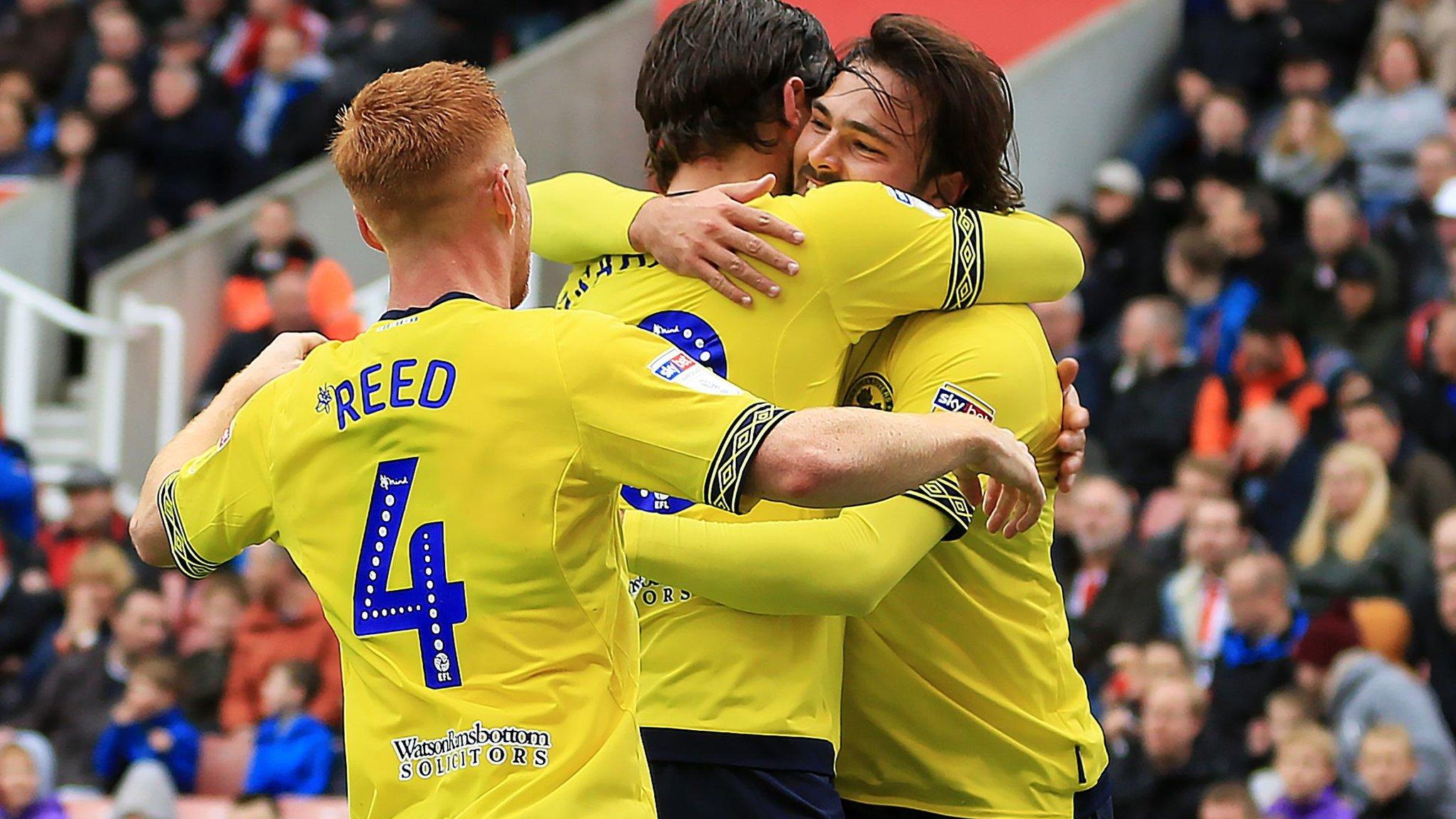 Stoke City 2-3 Blackburn: Saido Berahino misses late penalty as Potters' fightback falls short