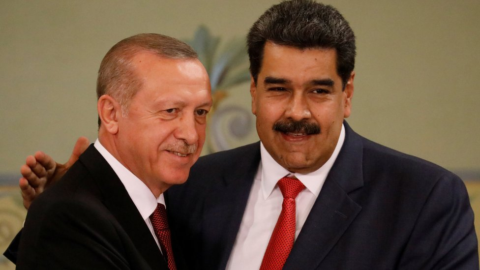أردوغان و مادورو